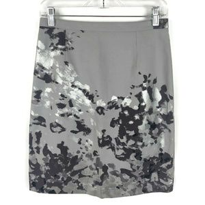 Michael Kors Collection Italy cement silver skirt